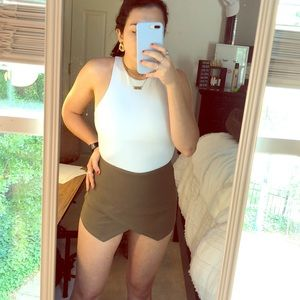 Olive skort (perfect for going out/college)